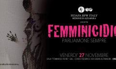 25 NOVEMBRE : FIDAPA C'E' !!! Giornata Internazionale contro la violenza alle donne.