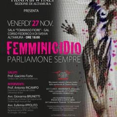 """27 Novembre 2015 Convegno Artistico   """"FEMMINICIDIO PARLIAMONE SEMPRE"""""""