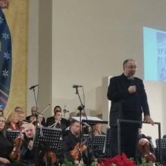 Programmazione televisiva Concerto di Natale diretto da Mons. Frisina