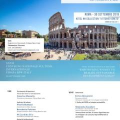 Assemblea Nazionale 30 Settembre  2018 – Roma