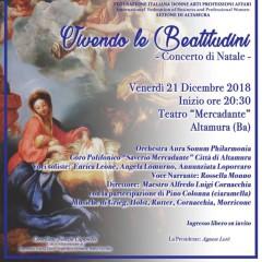Vivendo le Beatitudini- Concerto di Natale 2018 – Teatro Mercadante 21 Dicembre 2018