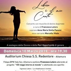 Libero è il mio canto- Concerto Maestro Francesco Lotoro – 10 Marzo 2019