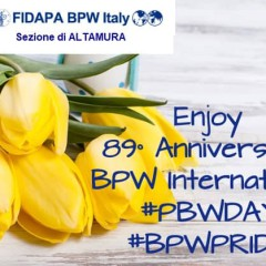 ANNIVERSARIO DELLA BPW INTERNATIONAL -26 Agosto
