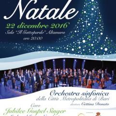"""Concerto di Natale- Altamura 22 dicembre 2016 -Sala Ricevimenti  """"Il Gattopardo"""""""